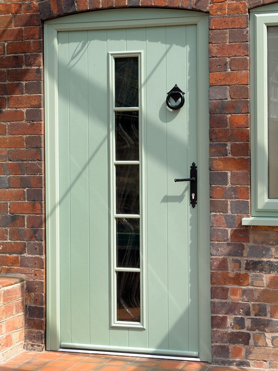 Composite door composite doors with single side panel for Composite front doors