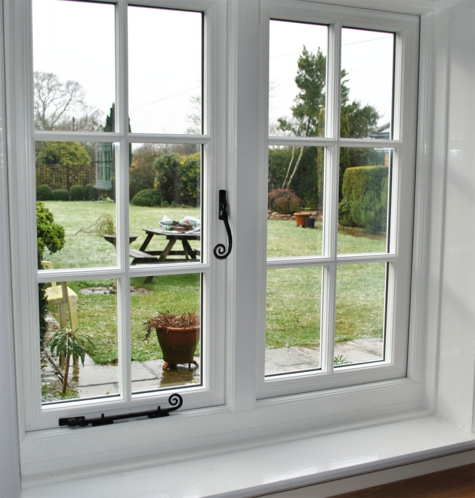 Timber alternative windows the new evolution storm 2 for Cottage style double hung windows