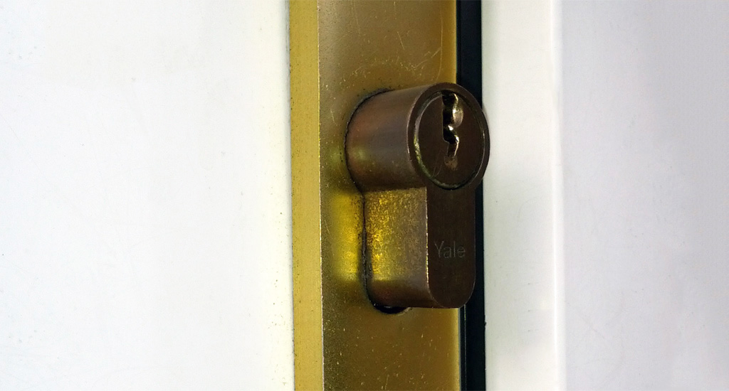 Old Insecure Euro Cylinder Lock & Customers Upgrade To ABS Secure Euro Cylinder