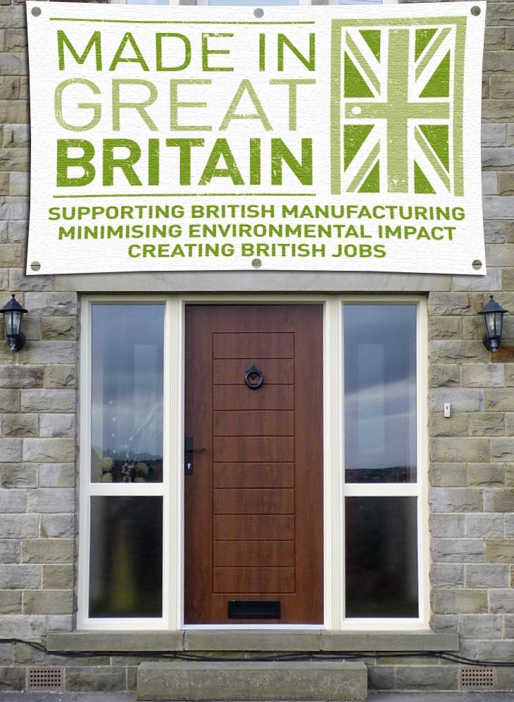 Solidor Composite Door Made In Great Britain