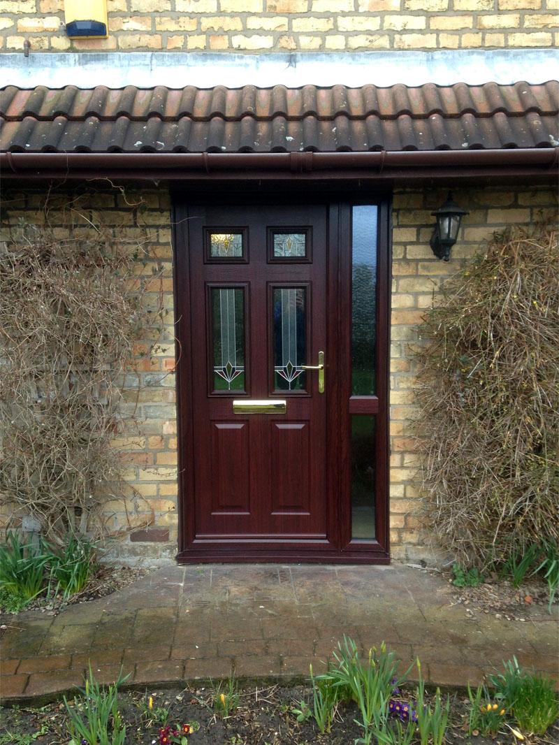 Solidor Tenby 4 Rosewood Composite Door