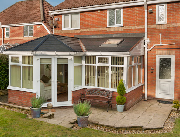 Garden room 39 s the conservatory evolution installed in for Conservatories and garden rooms
