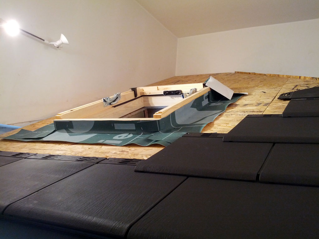 Enviro Gard Roof Progress