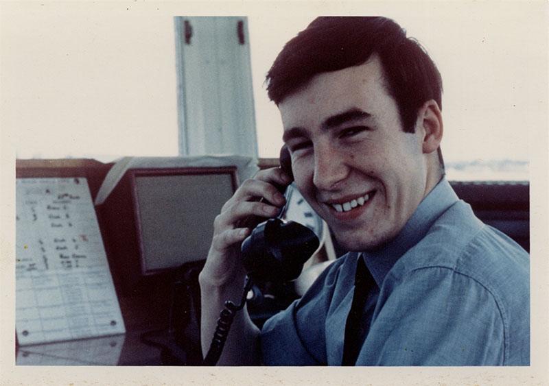 Stephen Halstead in 1969