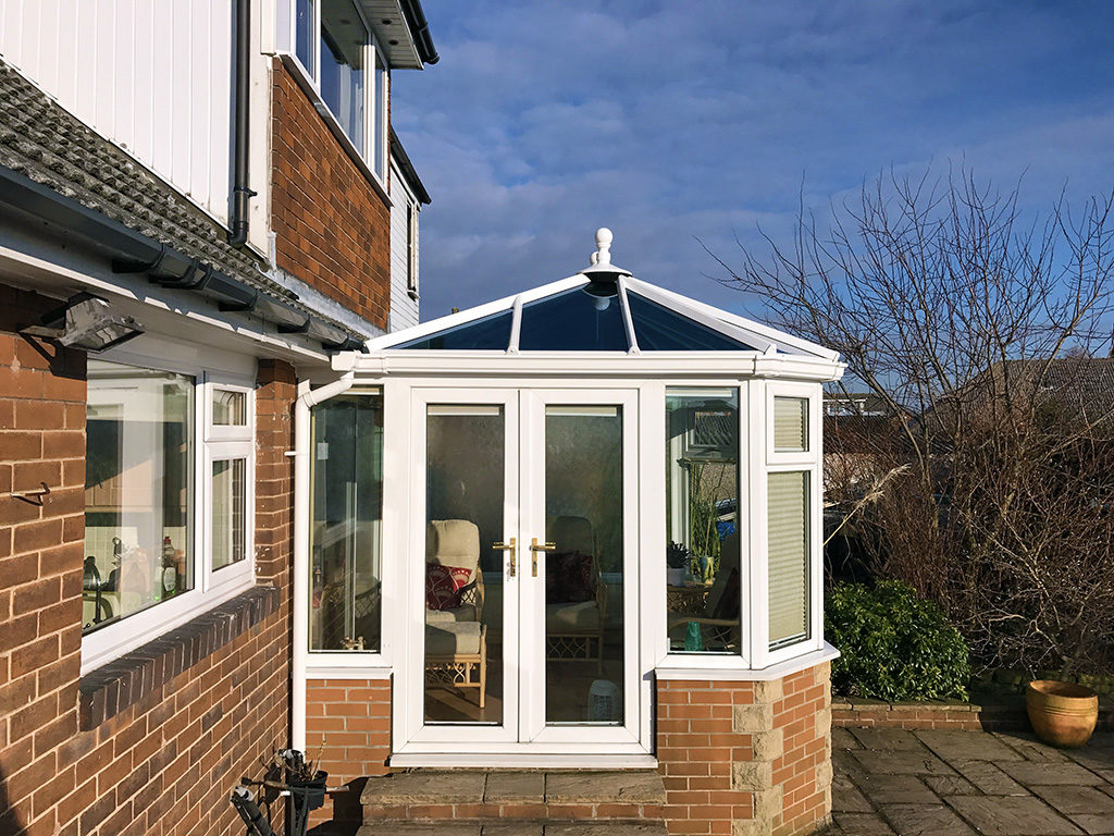 Mr and Mrs Hayes Conservatory Glass Roof Upgrade