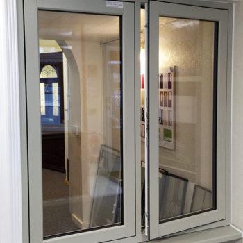 A Herritage Flush Upvc Casement Window