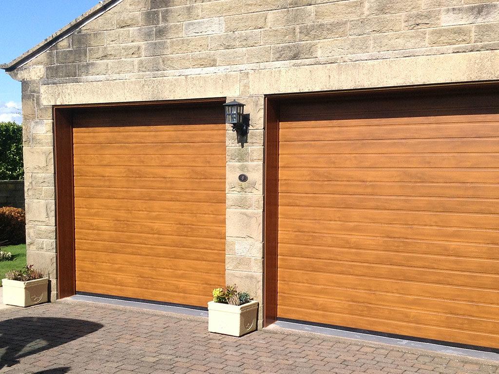 Garage Doors Installed at Farnley Tyas Huddersfield for Richard \u0026 Jane & Garage Doors Installed In Huddersfield By Gardinia Windows