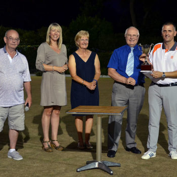 Lindley Bowling Club Winners Trophy