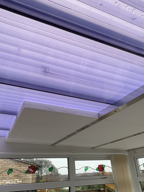 Roof Cladding For Polycarbonate Conservatory Roofs