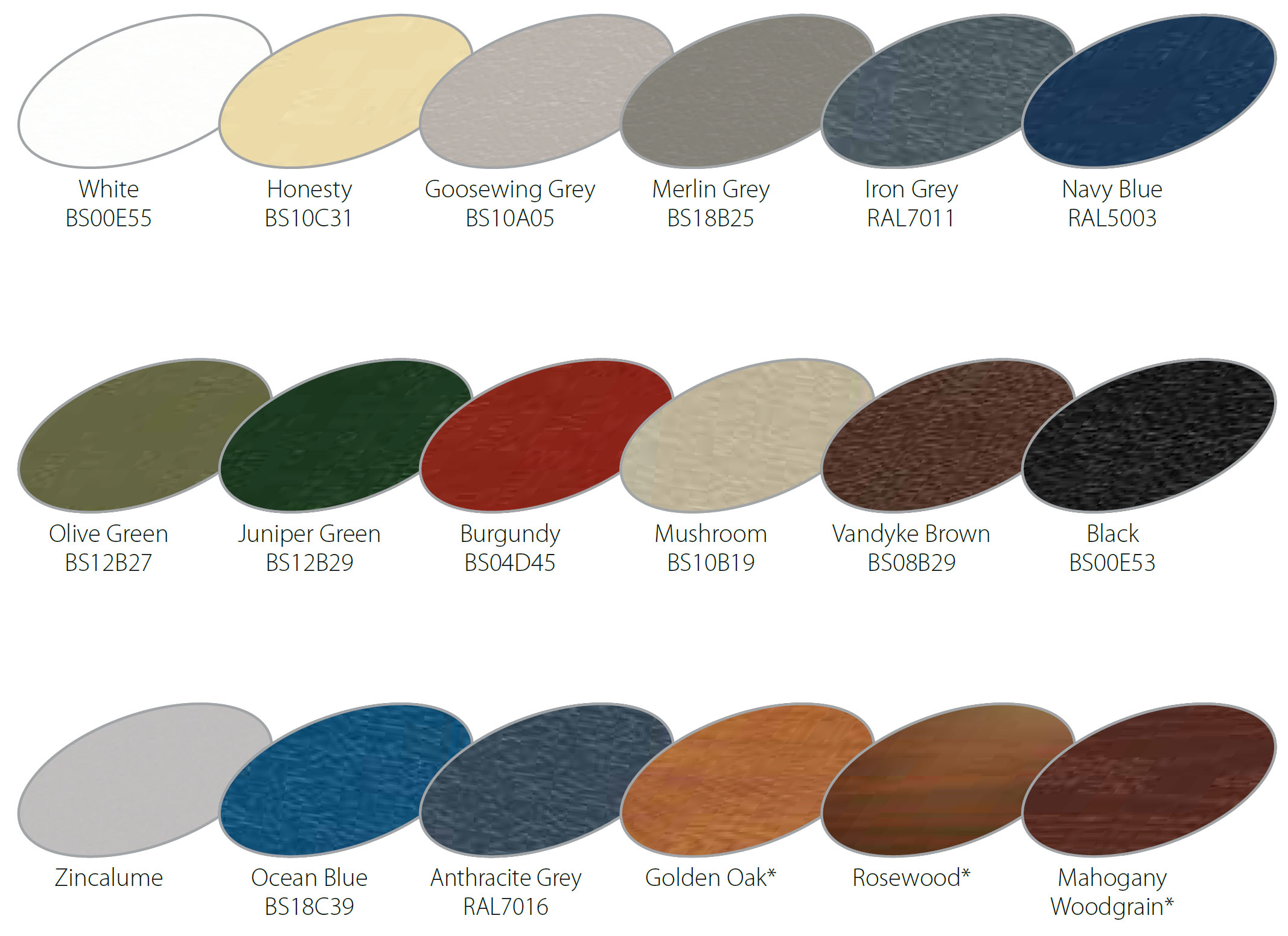 Garage Door Colour Choices