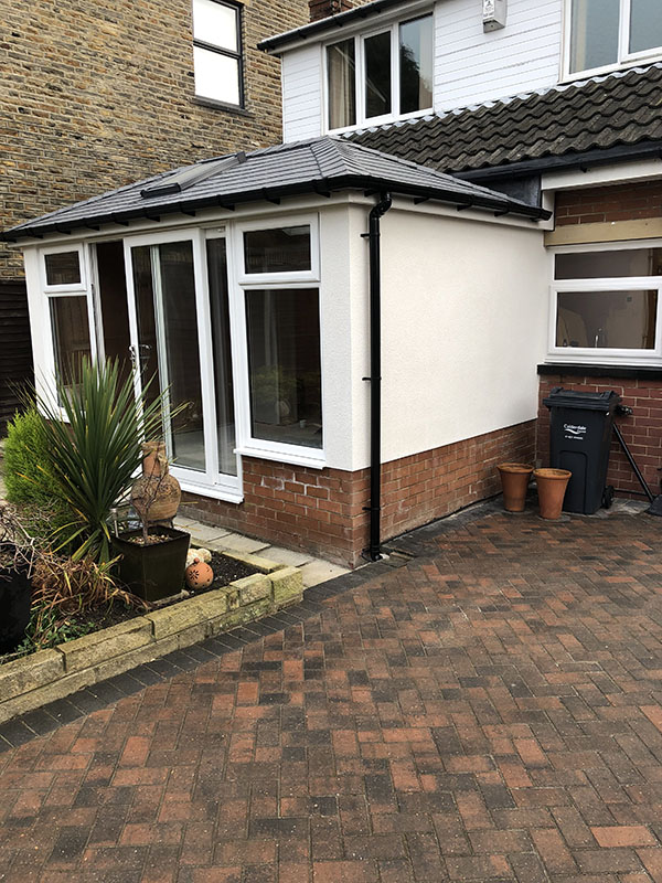 Solid Roof Upgrade For Existing Conservatory In Huddersfield